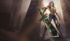League of Legends Riven art 3