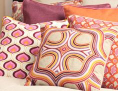 I pinned this from the Villa Home - Vibrant & Whimsical Throw Pillows event at Joss & Main!