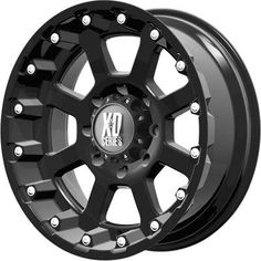 XD Black Wheel / Rim with a Offset and a Hub Bore. Jeep Rims, Truck Rims, Jeep Truck, Rims And Tires, Rims For Cars, Off Road Wheels, Black Wheels, Jeep Wrangler Unlimited