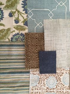 artsandhomes.com, interior design, fabric combination, fabric patterns, home decor, blue and green, cowtan & tout, peter fasano, kerry joyce, karastan, michaelian & kohlberg, pillow fabric, curtain fabric, upholstery fabric, living room, dining room, family room, bedroom, sunroom, beach house, breakfast room, elegant, casual, comfortable, fresh, happy, california