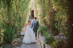 Bride and Groom - Gorgeous Rustic Wedding