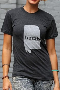 Alabama Home T Shirt | The Home. T | Bourbon & Boots