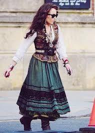 Gypsy clothes Sherlock Holmes