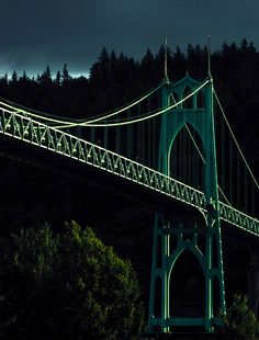 St. John's Bridge, Portland, Oregon