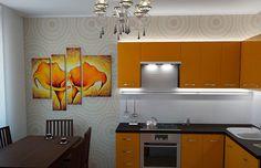 дизайн кухни фото Kitchen Cabinets, Home Decor, Creative Design, Cuisine Design, Design Ideas, House Decorations, Creativity, Decoration Home, Room Decor