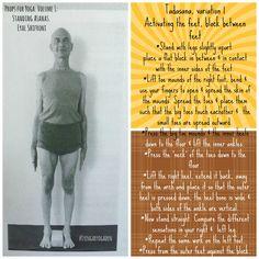 #iyengaryogaden From Props for Yoga Volume 1: Standing Asanas