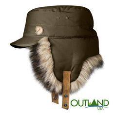 Woodsman Cap by  Fjallraven to keep you warm this winter! Winter Hats For  Men 8d267cafcba8