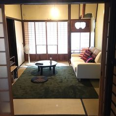 Living Room Japanese Style, Japanese Style House, Traditional Japanese House, Washitsu, My Ideal Home, Japanese Interior, Small Spaces, New Homes, Room Decor