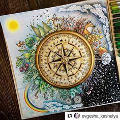 969 отметок «Нравится», 16 комментариев — Desenhos Colorir (@desenhoscolorir) в Instagram: «Que perfeito! #Repost @evgesha_kashulya with @repostapp #florestaencantada #enchantedforest…»