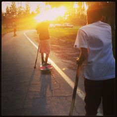 Street SUP Sunset #WestSSUP #TheBEASTMAKER