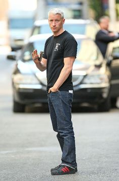 Anderson Cooper.  Ryan Reynolds is married now i guess its time to move on lol
