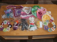 Another collection made from donated wool and donated to Oxfam Beautiful Crochet, Wool, Collection, Cute Crochet