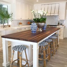"""301 Likes, 20 Comments - Luxe Report Designs (@luxereportdesigns) on Instagram: """"When you get to make beautiful kitchens just a little more beautiful ✨ #kitchenstyling…"""""""