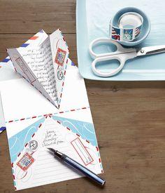 Carta de correspondencia imprimible