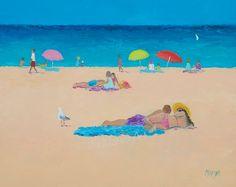 Beach Painting, beach art, Beach decor, beach house style, coastal living, beach home interiors, beach house decorating,