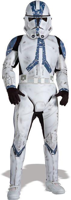 Clone Trooper Deluxe Kinder Kostüm #StarWars #StarWarsCostumes #CloneTrooperCostume #CloneTrooper