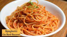 Red Sauce Pasta Recipe How To Make Pasta In Red Sauce Recipe. Fresh Tomato Sauce With Spaghetti Video Delish Knowledge. Sauce Spaghetti, Spaghetti Recipes, Pasta Recipes, Appetizer Recipes, Beef Recipes, Red Sauce Pasta Recipe, Cream Sauce Recipes, Sun Dried Tomato Sauce, Quinoa Sweet Potato