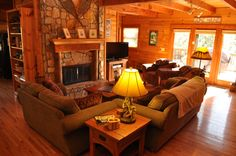 Decorating Lodge Style Living Room