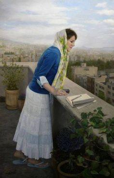 Persian girls by Morteza Katouzian (via PERSIAN QUEEN) - Rekrut Ks Currysuppe