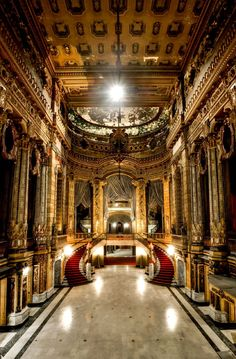 Uptown Theatre, Chicago, Illinois. Absolutely beautiful. Balaban & Katz  Chicago theatres were magnificantly appointed.