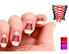 Waterslide+Nail+Decals+Valentine's+Nail+Art+by+iMagicDesigns,+$2.65