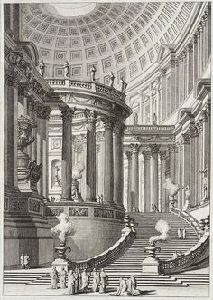 Giovanni Battista Piranesi - templo