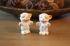 Vintage Bonzo the Dog Salt and Pepper by ShopNothingOrdinary