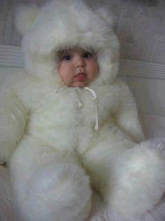 Fluffy baby!