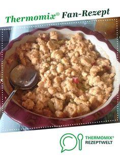 Rhabarber -Crumble von hexle123. Ein Thermomix ® Rezept aus der Kategorie Backen süß auf www.rezeptwelt.de, der Thermomix ® Community.