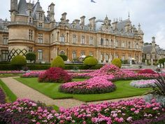 Waddesdon Manor in England