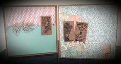 Guest Designer for Paper Wings Productions : Themed Thursday: Vintage Domino Melange Card Set