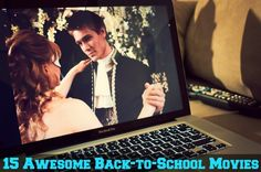 Here are the best back to school movies that help us get excited for a new school year, with college movies, high school films, and coming of age flicks. Back To School Movie, Film School, Series Movies, Film Movie, Movies To Watch, Good Movies, Amazing Movies, Netflix Options, College Movies