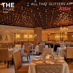 ‪#‎TheParkWay‬: Aish at The Park Hyderabad takes inspiration from the grand dining traditions of the Nizams. Have you indulged in Hyderabadi cuisine before?