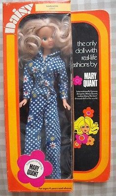MARY QUANT DAISY DOLL TIDDLYWINKS BOXED DOLL (65007) FLAIR TOYS VG COND   eBay