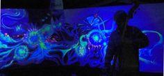 DIY - Glow in the dark art