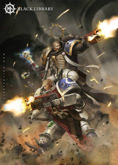 Another previous cover artwork done for Black Library's Warhammer novels, this one written by Robbie MacNiven. I need to know what happens on the planet of Iax after reading Dark Imperium Warhammer 40k Art, Warhammer Fantasy, Ultramarines, Angel Of Death, Geek Art, Space Marine, Fantasy Artwork, Sci Fi Art, Marvel