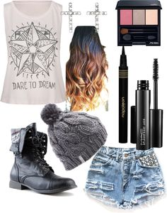 """""""mall with Acacia Clark"""" by skyeroig ❤ liked on Polyvore Clothes  Outift for • teens • movies • girls • women •. summer • fall • spring • winter • outfit ideas • dates • parties Polyvore :) Catalina Christiano"""