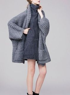 Winter Cardigan - Fashion trends and outfit inspiration | Tanya Shin Blog