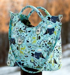 The City Tote Day-trip Bag and Everyday Purse – PDF Sewing Pattern