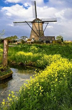 Beautiful place in Kimderdijke in the Netherlands