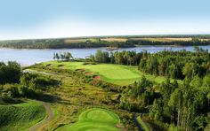 The Maritimes are home to scenic, memorable, and challenging golf courses. Some rank among the top courses in North America. Top Course, Golf Lessons, Prince Edward Island, New Brunswick, Small Island, Nova Scotia, North America, Golf Courses, How To Memorize Things