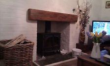 OAK BEAM Lintel Mantle shelf Inglenook OAK fireplace