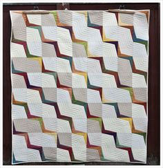needles and lemons: A finished quilt for Enne