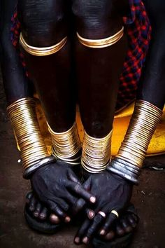 Gold acesories,  Ethiopia