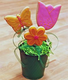 images of cookie bouquets | Mother's Day Cookie Bouquet Class — Sweet!