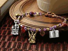 Jewelry Making Designs - Wizard School Bracelet