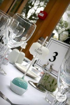 Wedding Cake Pop Place Setting