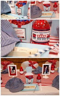 Train 4th Birthday Party - Kara's Party Ideas - The Place for All Things Party
