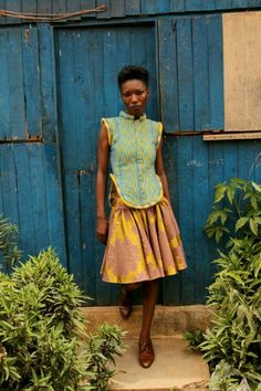 Loza Maléombho AW12 Lookbook Shot in Abidjan, Cote d'Ivoire | One Nigerian Boy