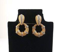 JOSEPH MAZER Clip On Earrings with Detachable Hoops by KatsCache, $89.95